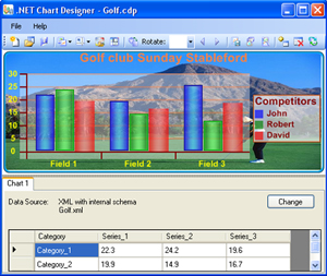 Click to view Smart Chart Designer 1.4 screenshot